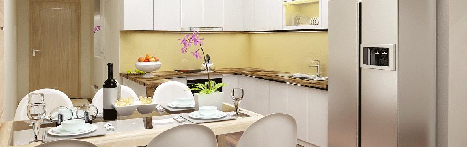 nội thất phòng bếp căn hộ