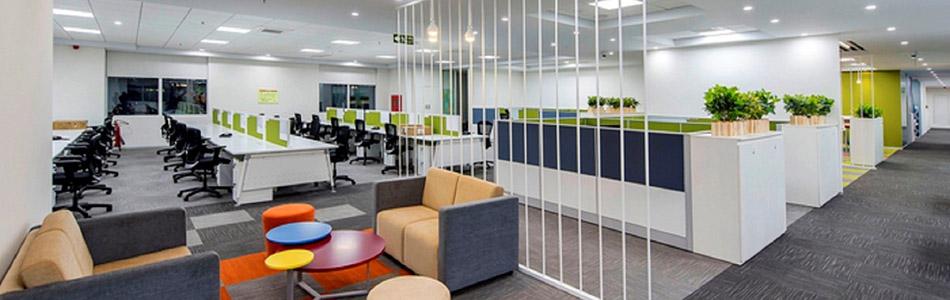 thiết kế nội thất văn phòng đơn giản