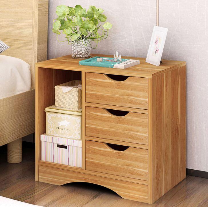 Tủ đầu giường gỗ công nghiệp 8