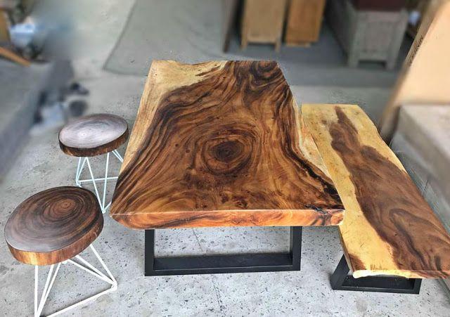 Bộ bàn ghế uống trà gỗ me tây