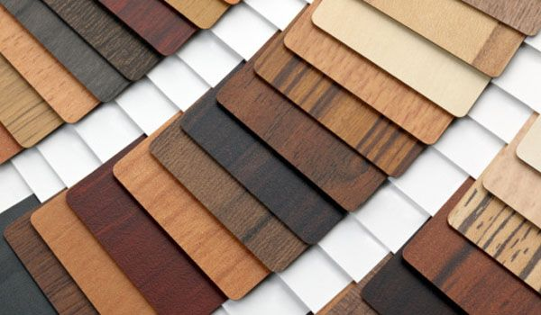 Plywood phủ melamin