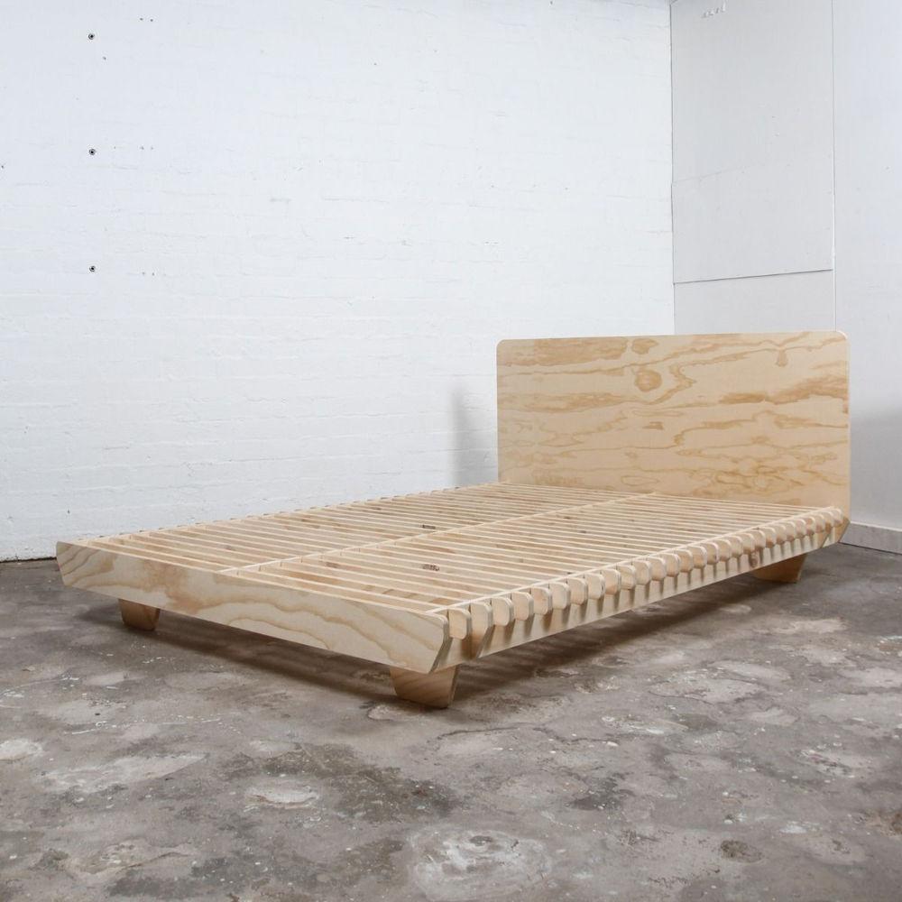 Giường ngủ gỗ Plywood lắp ráp