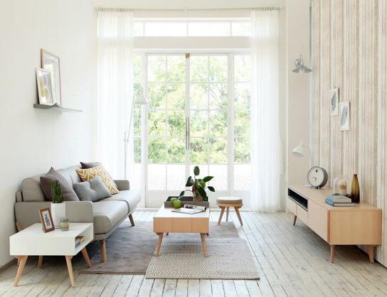bàn ghế gỗ cho phòng khách nhỏ