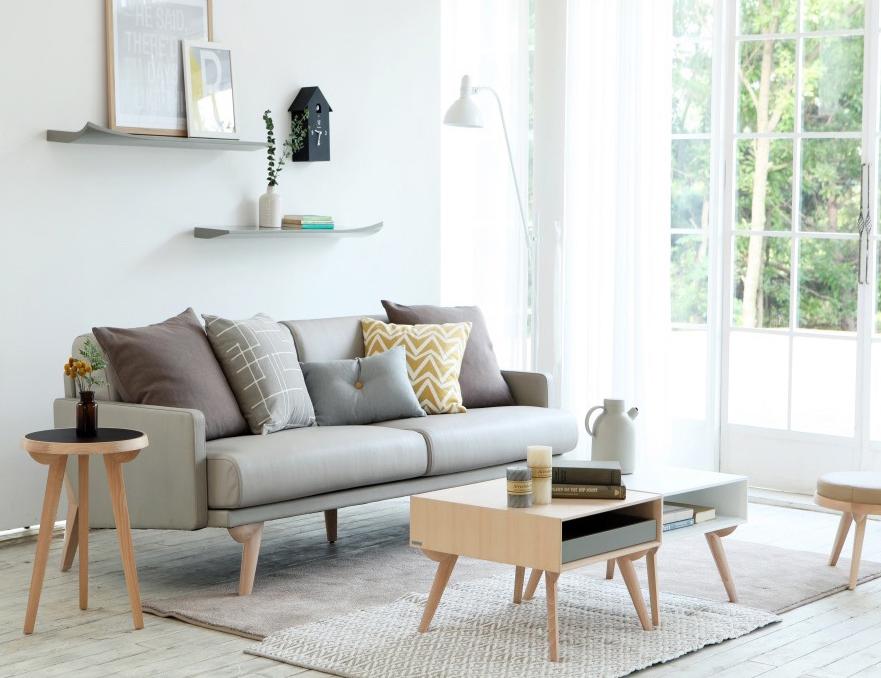 bàn ghế gỗ cho phong khách nhỏ