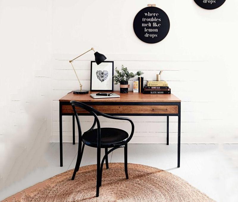 bàn làm việc gỗ tự nhiên