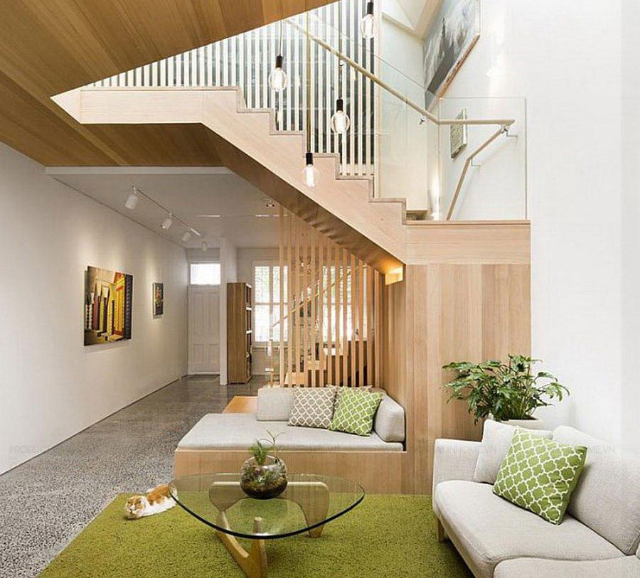 Thiết kế phòng khách không gian mở hiện đại