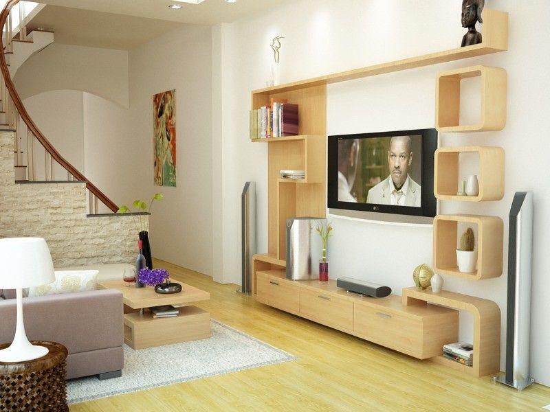 Phòng khách nhà phố nhỏ