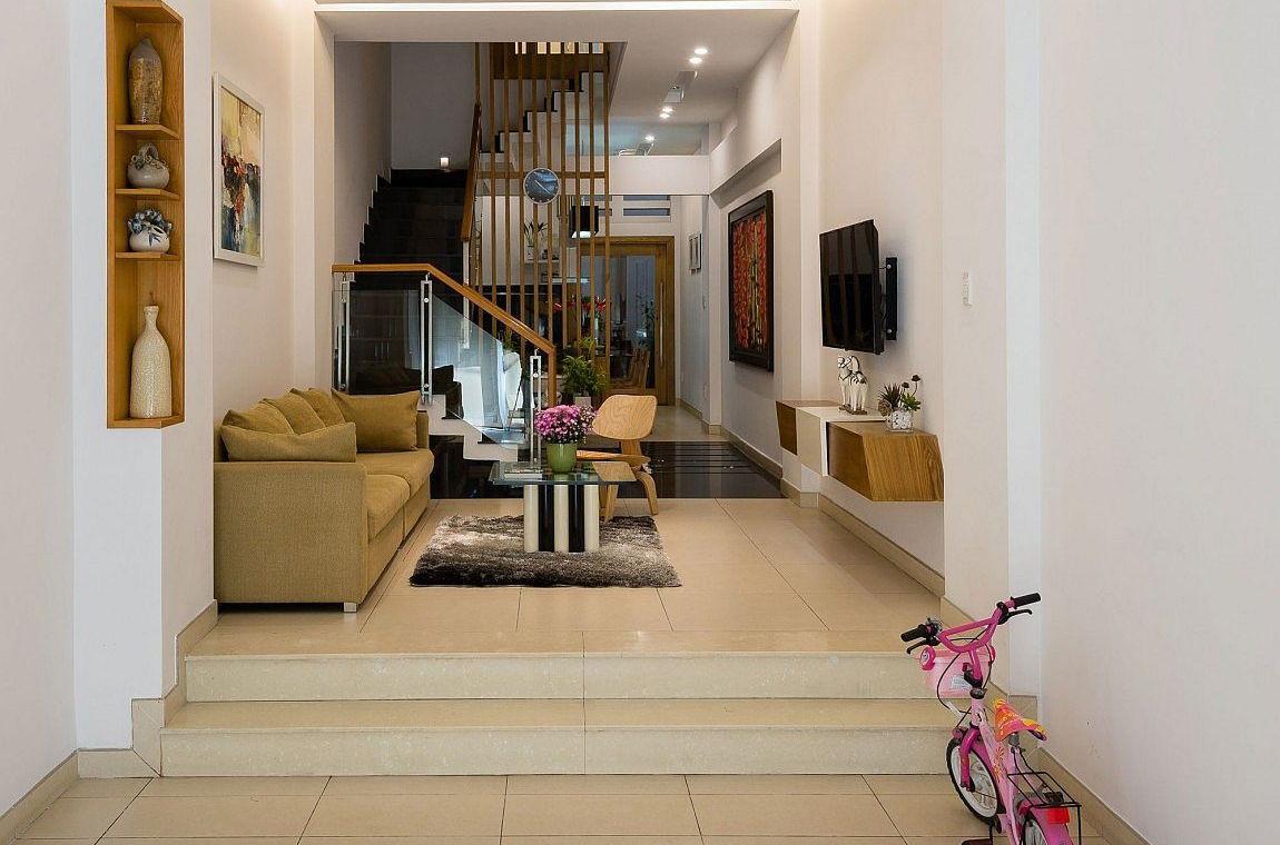 thiết kế phòng khách nhà phố diện tích nhỏ