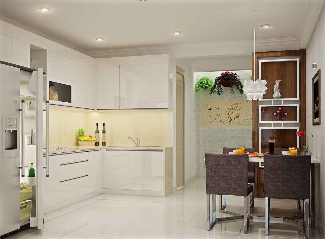 Mẫu thiết kế phòng bếp đẹp 2