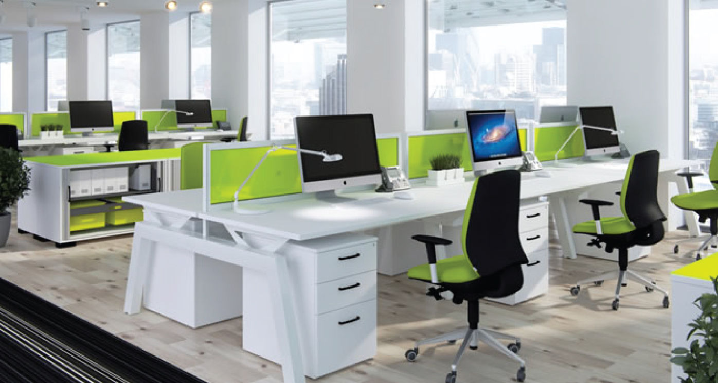 thiết kế phòng làm việc nhân viên