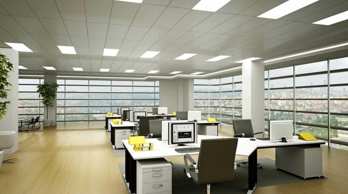 thiết kế nội thất văn phòng trong tòa nhà