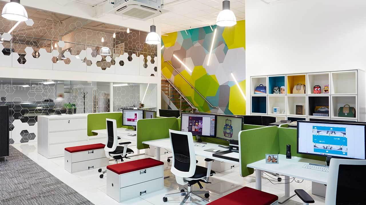 tính riêng tư trong thiết kế văn phòng