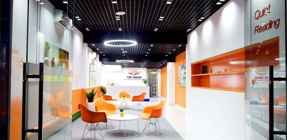 thiết kế văn phòng từ nhà phố