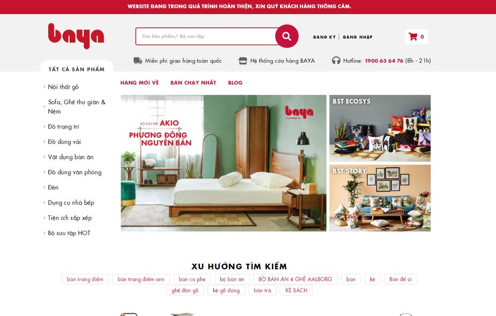 website baya.vn
