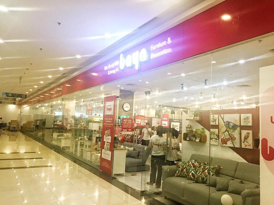 Showroom nội thất Baya trong trung tâm thương mại