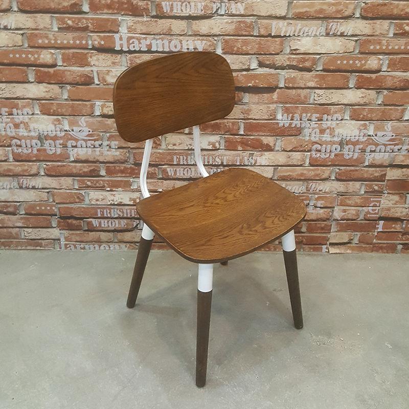 ghế cafe tựa lưng gỗ sồi