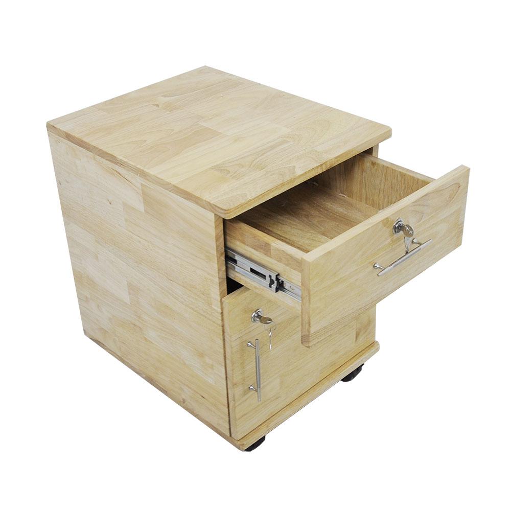tủ cá nhân, tủ hồ sơ văn phòng bằng gỗ cao su