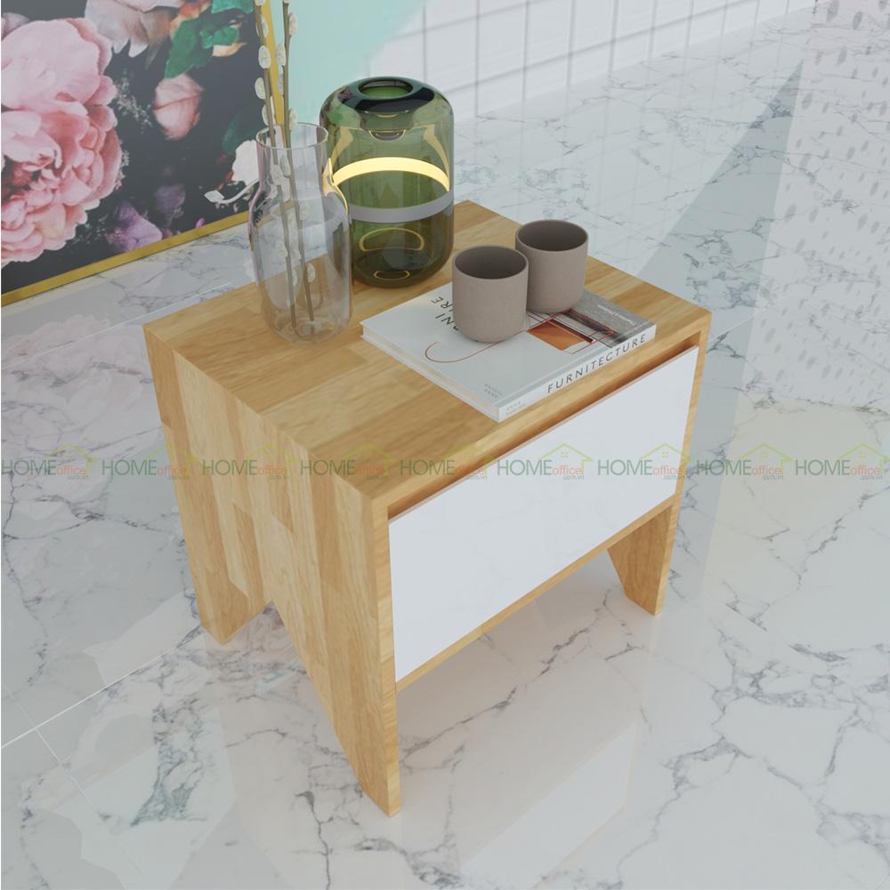 Tủ nhỏ để đầu giường bằng gỗ 1 ngăn kéo