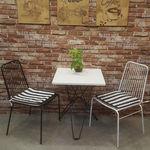 ghế cafe lưng lưới sắt