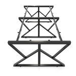 SFKC122 - Chân bàn cụm 4 chỗ sắt 25x50 lắp ráp chữ K