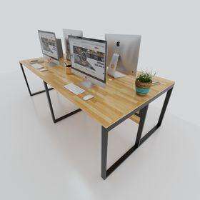 cụm bàn văn phòng 4 người