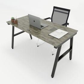 SFAC001- Bàn làm việc đơn giản gỗ cao su chân sắt chữ A