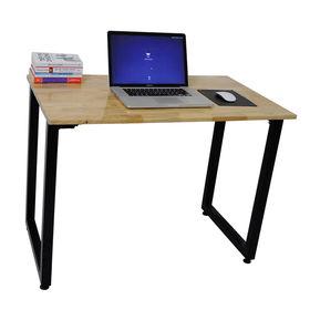 SFCG001 - Bàn làm việc đơn giản gỗ cao su chân gấp gọn