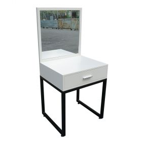 Bàn trang điểm Mini màu trắng kèm gương - SFBTD005