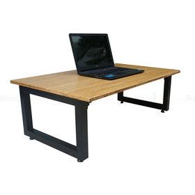 SFBB004- Bàn gồi bệt chân gấp gỗ TRE ÉP (60x100x35cm)