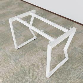 SFMC101 - Chân bàn đơn giản sắt 25x50 lắp ráp chữ M