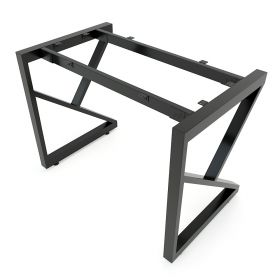 SFKC101 - Chân bàn đơn giản sắt 25x50 lắp ráp chữ K