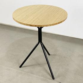 SFBCF036 - Bàn cafe gỗ TRE tròn 60cm chân chãng 3