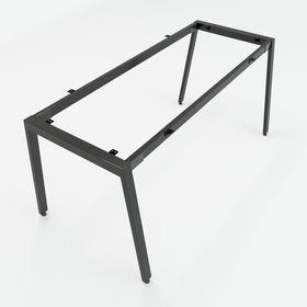 SFAT102 - Chân bàn giám đốc sắt 25x50 lắp ráp chữ A mẫu 2