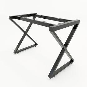 SFXC101 - Chân bàn đơn giản sắt 25x50 lắp ráp chữ X