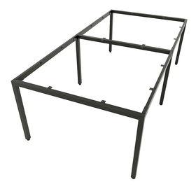 SFUC122 - Chân bàn cụm 4 chỗ sắt hộp lắp ráp