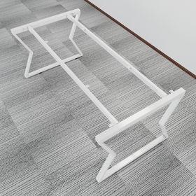 SFVC103 - Chân bàn họp nhỏ sắt 25x50 lắp ráp chữ V