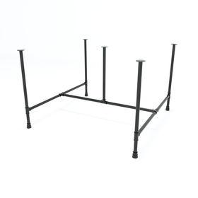 SFPP120 - Chân bàn làm viêc cụm 2 chỗ sắt ống nước lắp ráp