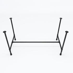 SFPP101 - Chân bàn đơn giản sắt ống nước lắp ráp
