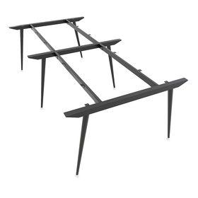 SFCN122 - Chân bàn cụm 4 chỗ sắt Côn lắp ráp