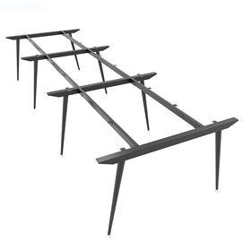 SFCN123 - Chân bàn làm việc cụm 6 chỗ sắt Côn lắp ráp