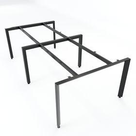 SFTA122 - Chân bàn cụm 4 chỗ sắt Tam giác lắp ráp