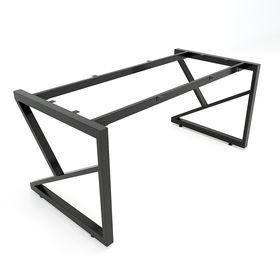 SFKC102 - Chân bàn giám đốc sắt 25x50 lắp ráp chữ K
