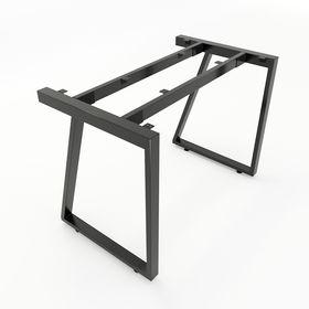 SFTV101 - Chân bàn đơn giản sắt 25x50 lắp ráp hình thang vuông