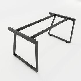 SFTV102 - Chân bàn giám đốc sắt 25x50 lắp ráp hình thang vuông