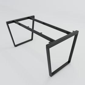 SFTC102 - Chân bàn giám đốc sắt 25x50 lắp ráp hình thang cân