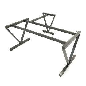 SFMC105 - Chân bàn góc L sắt hộp lắp ráp chữ M