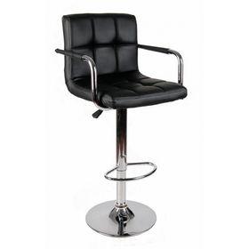 SFBR008- Ghế Bar nệm có tựa lưng chân tròn nâng hạ