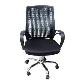 SFGLV013- Ghế xoay văn phòng lưng nhựa tay liền