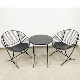 CBCF022 - Bộ bàn ghế cafe, thư giãn Cánh Diều sắt sơn tĩnh điện