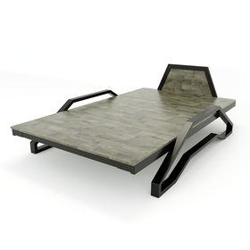 SFGN009 - Giường ngủ Tankbed khung sắt lắp ráp gỗ cao su
